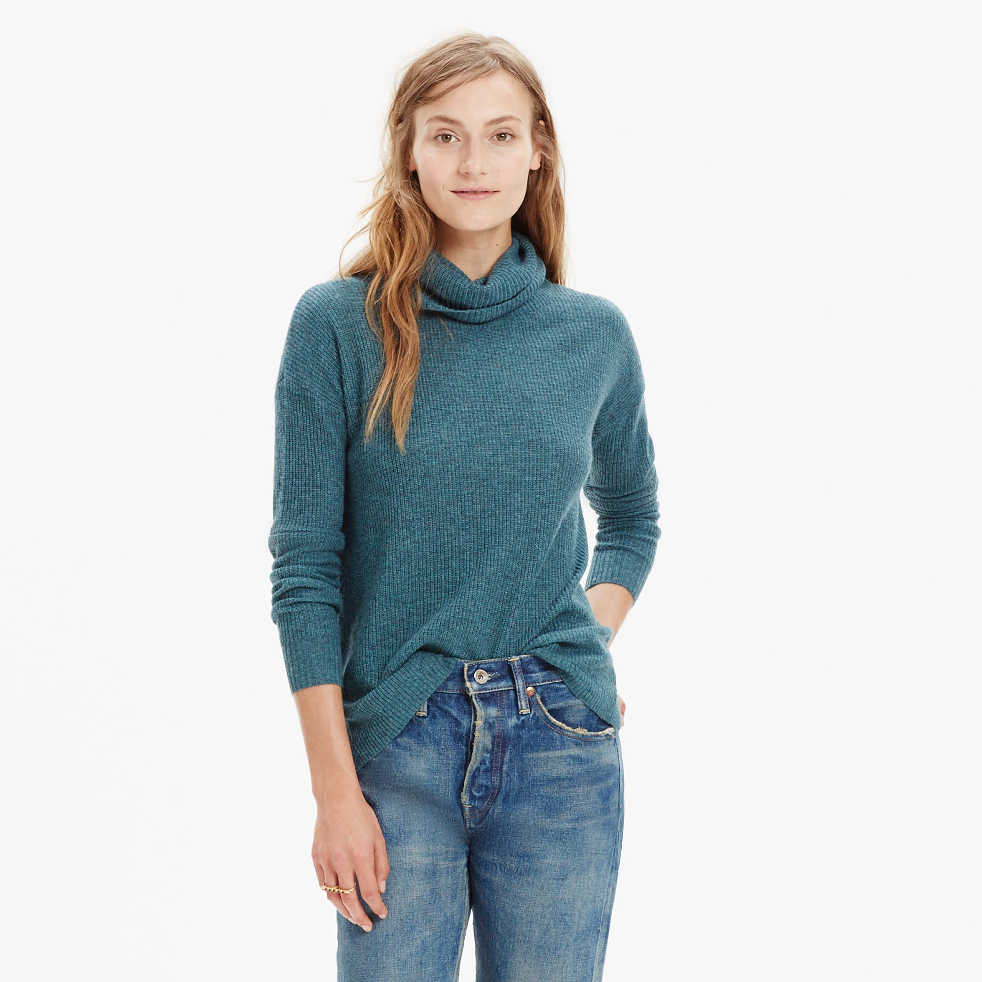 Ribbed Turtleneck Sweater : turtlenecks | Madewell