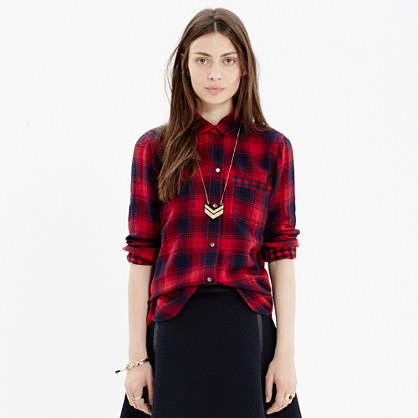 Flannel Ex-Boyfriend Shirt in Albion Plaid