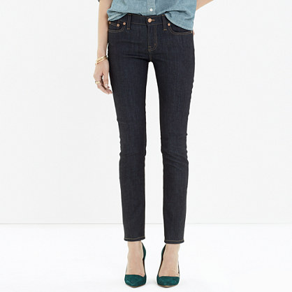 Alley Straight Jeans in Raw Wash