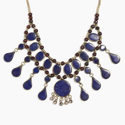 Tribal Souk™ Lapis Statement Necklace