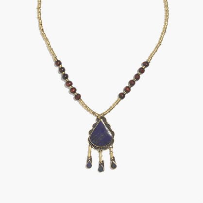 Tribal Souk™ Lapis Pendant Necklace