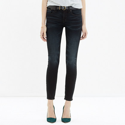 Skinny Skinny Crop Jeans in Tempest Wash