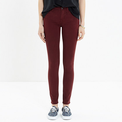 Skinny Skinny Sateen Jeans