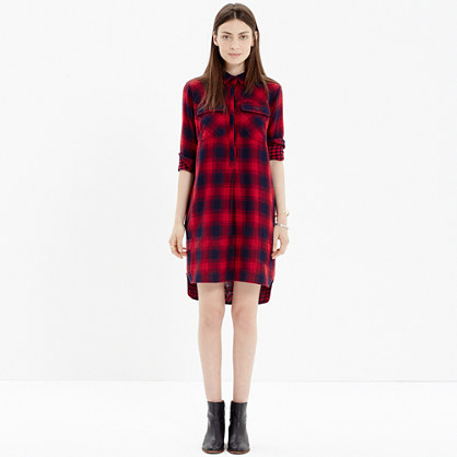 Daywalk Shirtdress in Albion Plaid