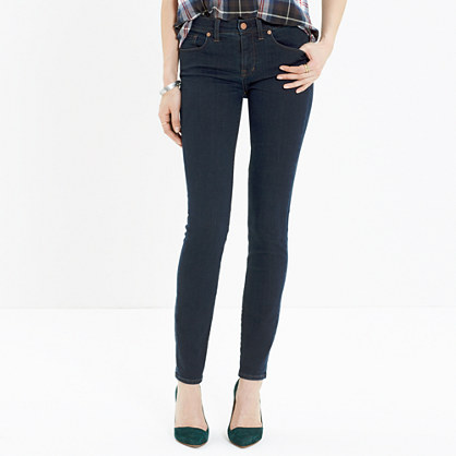 "8"" Skinny Jeans in Madewell Rinse"