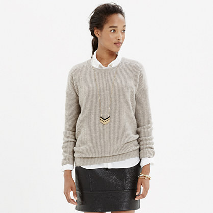 Cashmere Allday Pullover Sweater : cashmere | Madewell