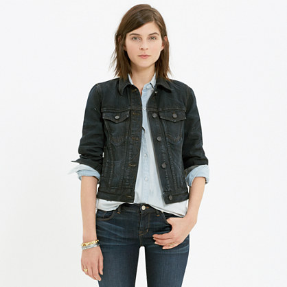 The Jean Jacket in Rebel Wash