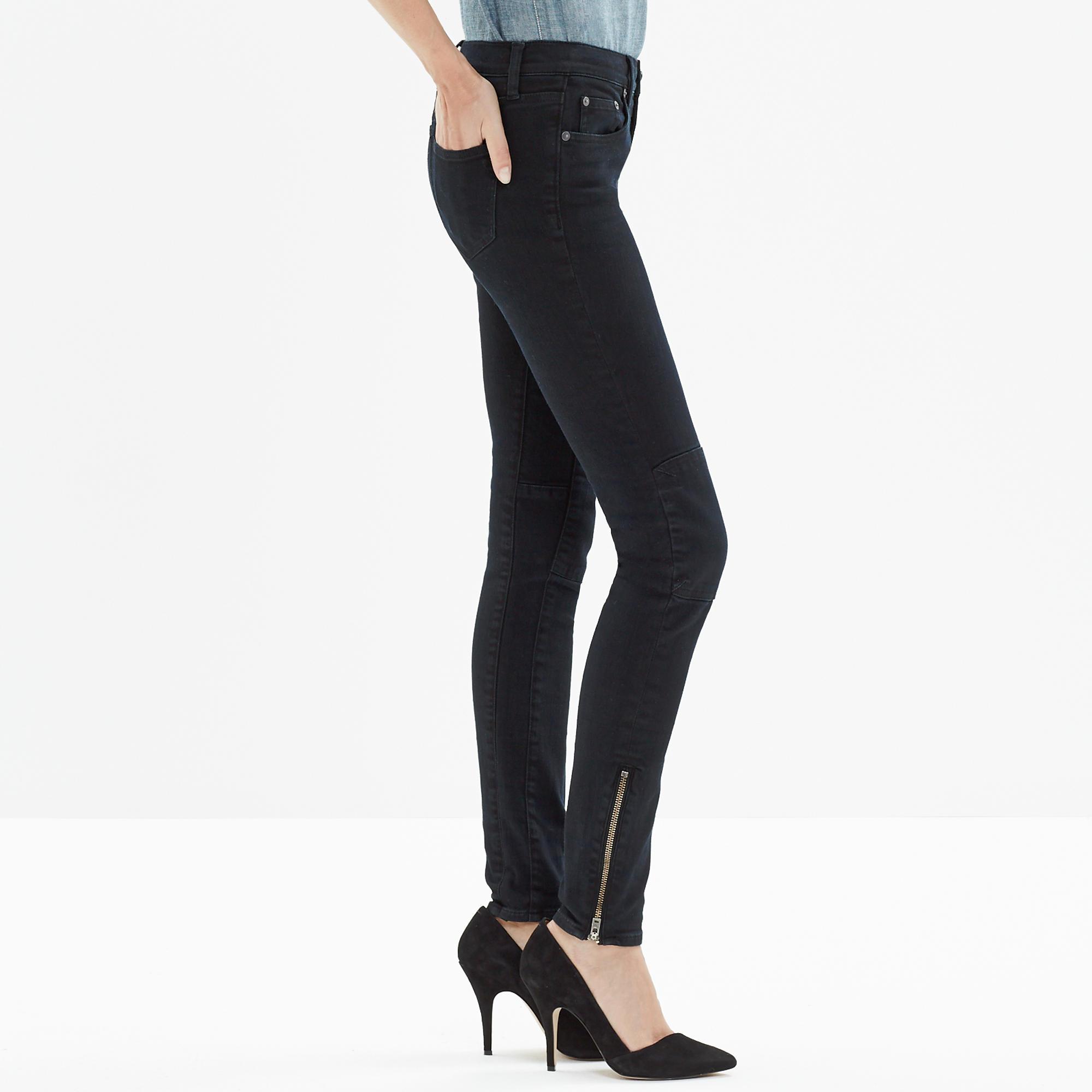 Skinny Skinny Zip Jeans in Rebel Wash : skinny jeans | Madewell