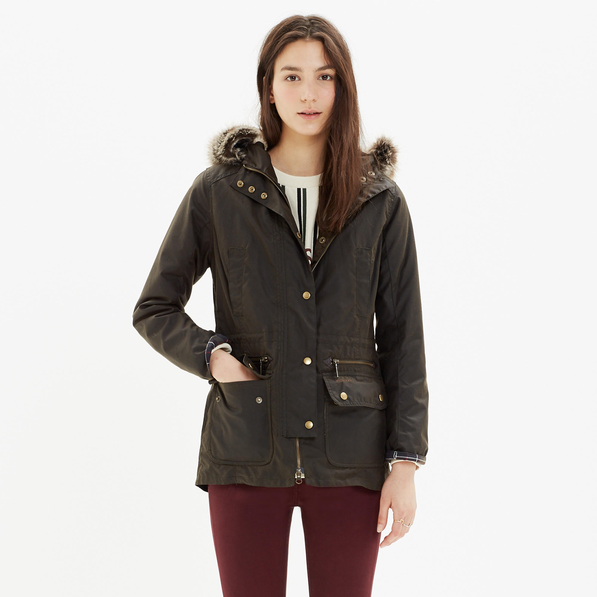 Barbour 'kelsall' woman waxed jacket