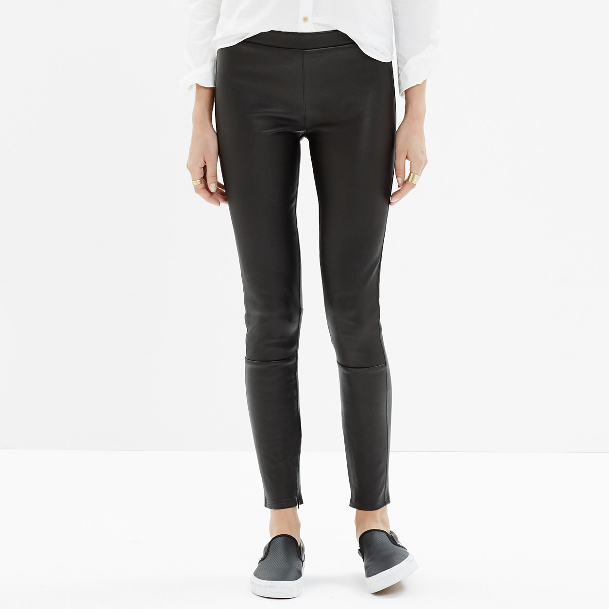 Madewell Leather Leggings