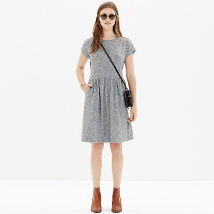 Heathered Jersey Dress