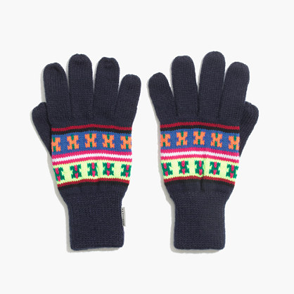 Penfield® Neon Pattern Gloves