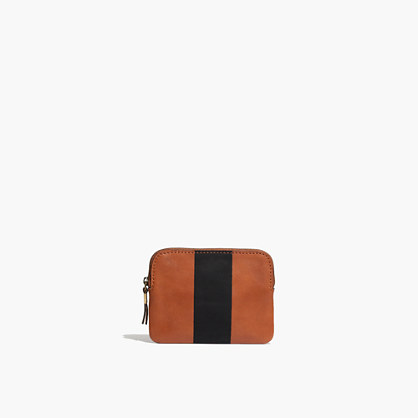 The Pouch Wallet in Paintstripe
