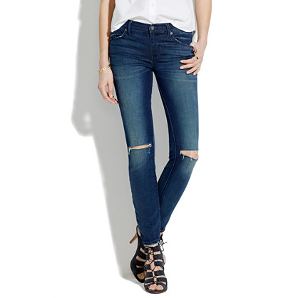Skinny Skinny Jeans: Destructed Edition : skinny jeans | Madewell