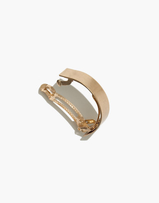 Ponytail Clip in vintage gold image 2