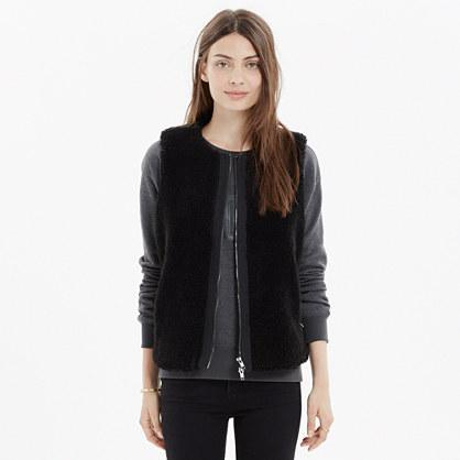 Faux-Fur Zip Vest