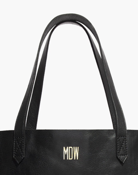 The Transport Tote in true black image 4