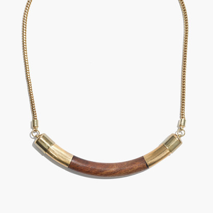 Wooden Collar Necklace