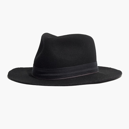 Black Fedora Felt Hat With Ribbon - OS / BLACK I Saw It First CTkAvlswqF