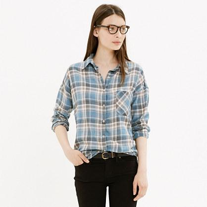 NSF® Rhodes Shirt in Blue Plaid