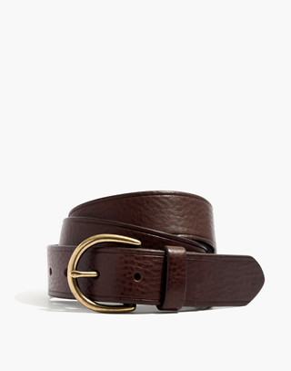 Medium Perfect Leather Belt