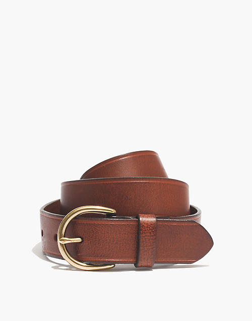 Medium Perfect Leather Belt by Madewell