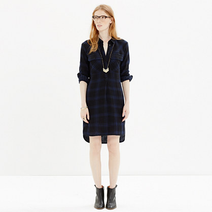 Daywalk Shirtdress in Farmstand Plaid