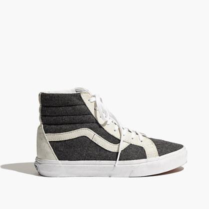 grey vans classic high tops