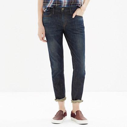SkarGorn™ Thorn Slim Slouch Jeans in Strike Wash : boyjeans | Madewell
