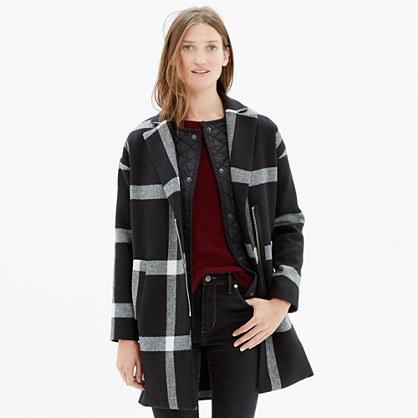 Checkmark Zip Coat