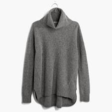 The Always Turtleneck Sweater - HTHR MEDIUM GREY