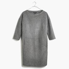 Manuscript Dress - HTHR MEDIUM GREY
