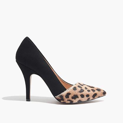 The Mira Heel in Leopard