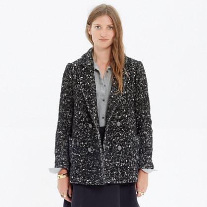 Madewell et Sézane® Tweed Coat