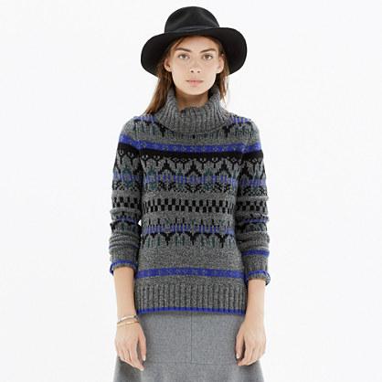 Iceblock Turtleneck Sweater