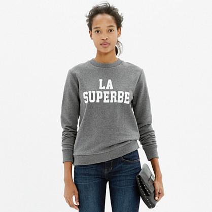 Madewell et Sézane® La Superbe Sweatshirt