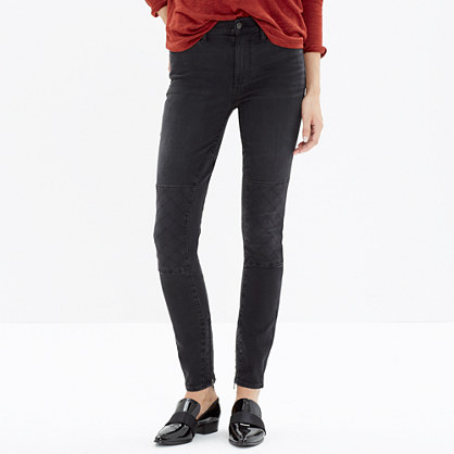 High Riser Skinny Skinny Jeans: Stitch-Patch Edition