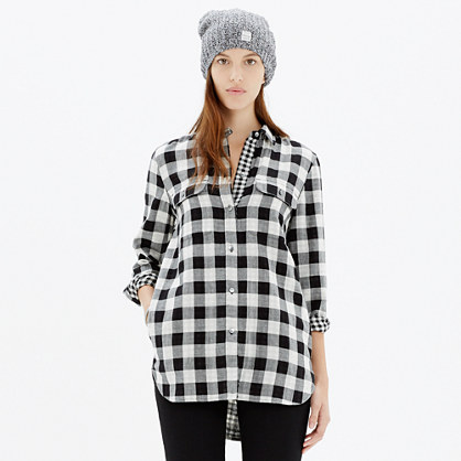 Ex-Boyfriend Shirt in Shaw Plaid