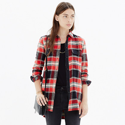 Ex-Boyfriend Shirt in Dean Plaid