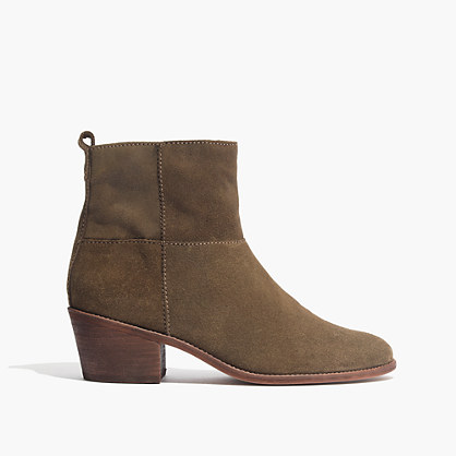 The Perrie Boot in Suede