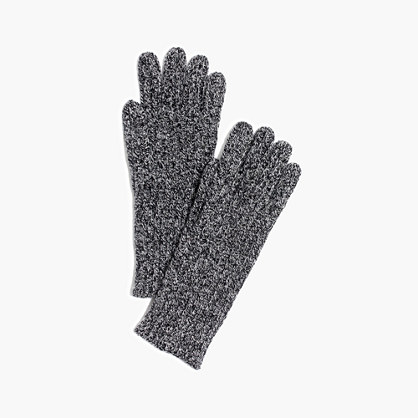 Ribbed Texting Gloves