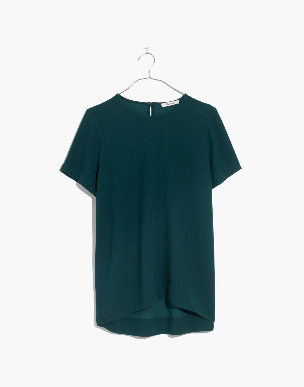 Tailored Tee in bowling green image 4