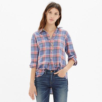 Rivet & Thread Flannel Shirt in Harvey Plaid