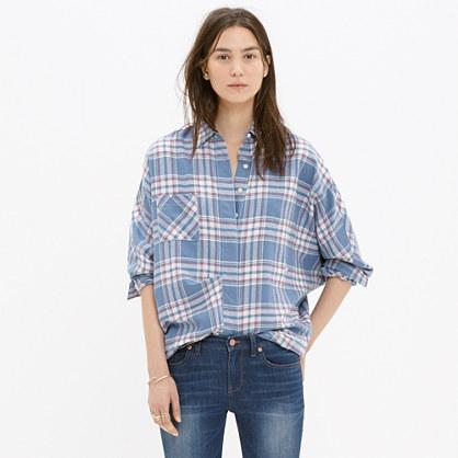 Rivet & Thread Flannel Tiltcatch Shirt in Hanna Plaid