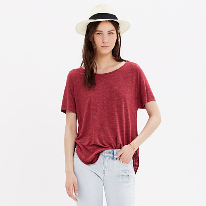 Anthem Side-Slit Tee