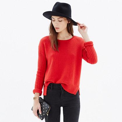 Texturemix Pullover Sweater