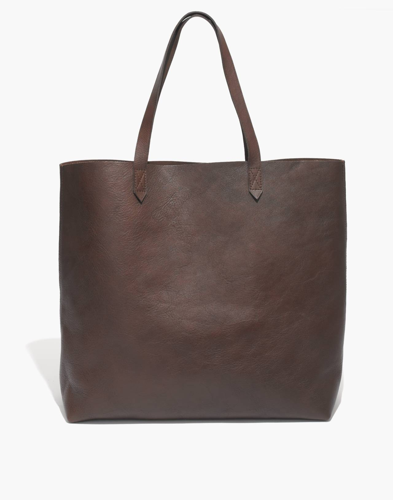 The Transport Tote in dark cocoa image 1