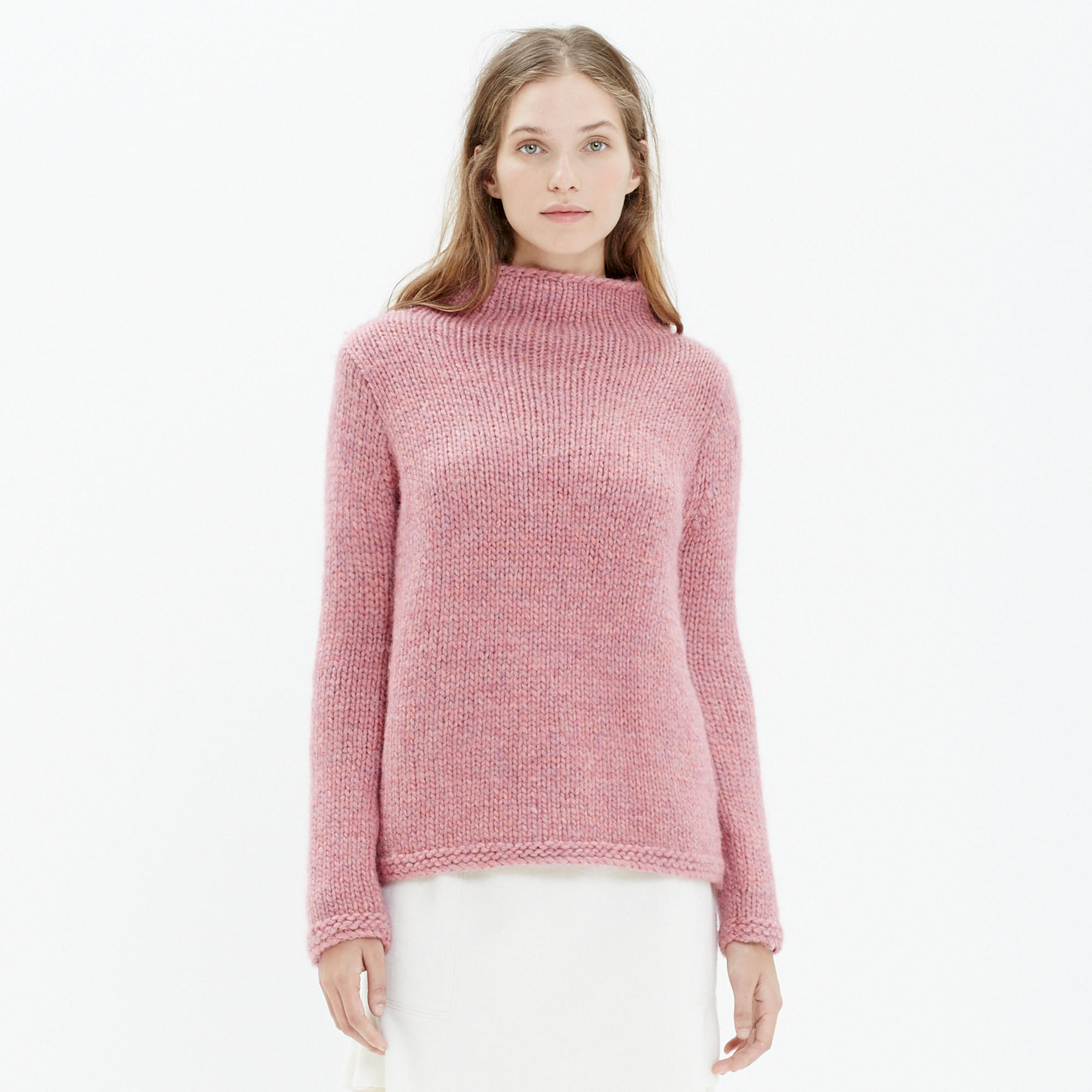 Handknit Turtleneck Sweater : pullovers | Madewell