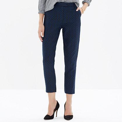 Madewell et Sézane® Crop Trousers