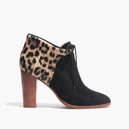 Madewell et Sézane® Front-Tie Boots